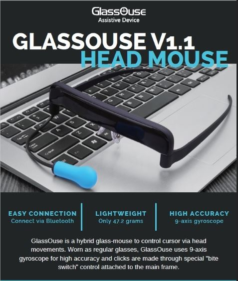 Light Weight Head Mouse