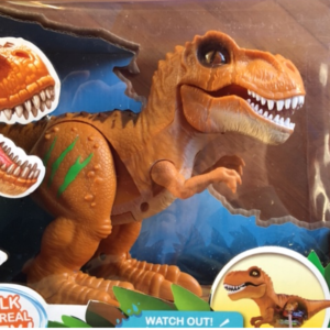 Dinosaur switch-adapted toy